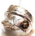 ゴローズフェザー、イーグル付きペンダントをリング(指輪)にカスタマイズ